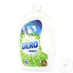 Гель для стирки Dero Ozon+ горная роса 3л