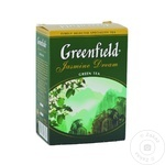 Ceai Greenfield verde cu jasmin infuzie 100g - cumpărați, prețuri pentru Metro - foto 1