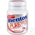Жевательные конфеты Mentos клубника 54г