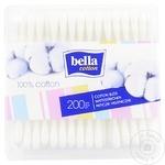 Bețișoare igienice Bella 200buc