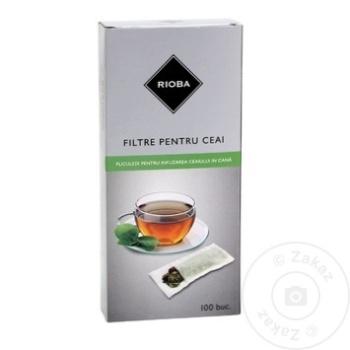 Filtre pentru infuzarea ceaiului Rioba 78х125mm 100buc - cumpărați, prețuri pentru Metro - foto 1