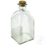 Бутылка для хранения с крышкой 250мл