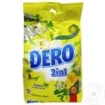 Стиральный порошок Dero 2in1 фрезия/цветы липы 6кг