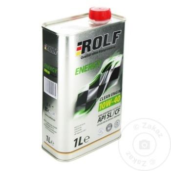 ROLF ENERGY SAE 10W40 SL/CF 1L - купить, цены на Метро - фото 1
