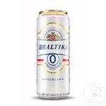 Безалкогольное пиво Балтика ж/б 0,5л