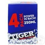 Энергетический напиток Tiger 0,25л х 4шт
