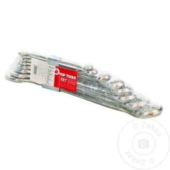 Ключи рожковое Top Tools 6-19мм набор 8шт - купить, цены на Метро - фото 1