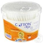 Палочки ватные Cotton Soft 300шт