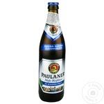 Пиво безалкогольное нефильтрованное Paulaner стекло 0,5л