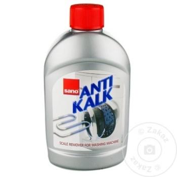 Solutie pentru inlaturarea calcarului Sano AntiKalk pentru masina de spalat 500ml - cumpărați, prețuri pentru Metro - foto 1