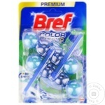 Средство для унитаза Bref Blue Aktiv Duo Eucalipt 2x50г