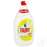 Средство для мытья посуды Fairy Chamomile 1,3л