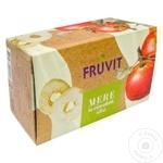 Яблоки в белой шоколадной глазури Fruvit 100г