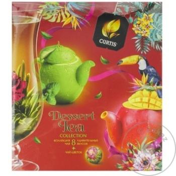 Чай Curtis черный в пакетиках Dessert Bloom 40x2г - купить, цены на Метро - фото 2