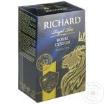 Чай Richard черный листовой Цейлон 90г