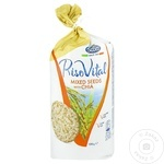Rondele Riso Scotti de porumb si orez cu seminte si chia 100g - cumpărați, prețuri pentru Metro - foto 1