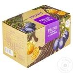 Prune/nucă în glazură de ciocolată Fruvit 350g