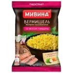 Вермишель МИВИНА® со вкусом мяса 59,2г