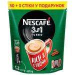 Cafea solubilă NESCAFE® 3 in 1 TURBO 53x13g