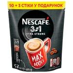 Кофе растворимый NESCAFE® 3 in 1 EXTRA STRONG 53x13г