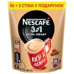 Кофе растворимый NESCAFE® 3 in 1 ULTRA CREAMY 53x13г