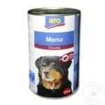 Корм для собак ARO печень 1,24кг