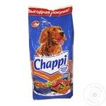 Корм сухой для собак Chappi говядина/птица 15кг