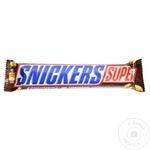 Шоколадный батончик Snickers Super 95г