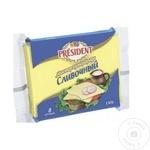 Cascaval topit President cu frisca 150g