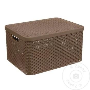 Ящик для хранения Style 43х32х23см - купить, цены на Метро - фото 4