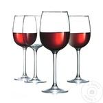 Set 4 pahare vin rosu Allegrese 420ml