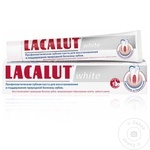 Зубная паста Lacalut White 75мл