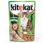 Корм для кошек Kitekat кролик 85г