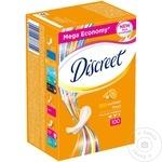 Ежедневные гигиенические прокладки Discreet Deo Fresh 100шт