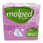 Прокладки Molped Ultra Normal Floral 10шт