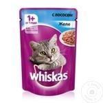 Корм для кошек Whiskas Лосось желе 85г