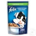 Корм для кошек Felix кролик 100г