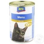 Корм для кошек ARO курица 415г