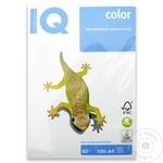 IQ hartie сolor pastel Bl-29 blue A4 80g 500foi