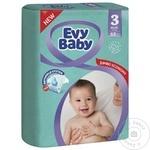 Подгузники Evy Baby 5-9кг Nr.3 68шт