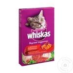Hrana uscata pentru pisici Whiskas vita/iepure 350g