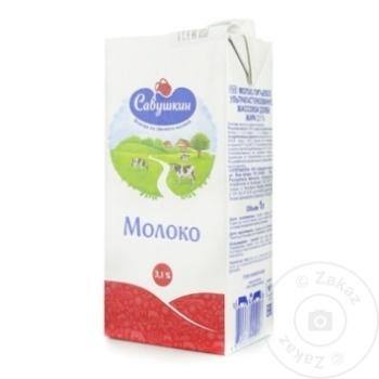 Lapte Savuskin 3,1% 1l - cumpărați, prețuri pentru Metro - foto 1