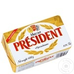 Unt President din smantana dulce 82% 400g