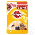 Корм для собак Pedigree говядина 100г