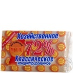 Мыло хозяйственное твёрдое 72 % классическое 150 г