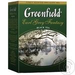 Чай Greenfield черный листовой с бергамотом 100г