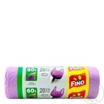 Saci menaj Fino cu maner 20x60l - cumpărați, prețuri pentru Metro - foto 1