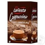 Cappucino La Festa ciocolata 10x12,5g