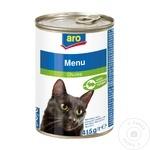 Hrana pentru pisici ARO iepure 415g