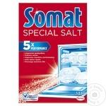 Соль для посудомоечных машин Somat 1,5кг
